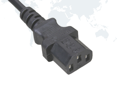 UL Approval IEC 60320 C13 Standard Power Cord