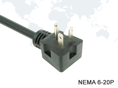 American Power Cords NEMA 6-20P UL Approval