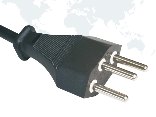 SEV Power Cords Swiss Approval Plug SEV02